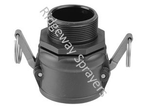 Camlock Male Coupler for sale at Ridgeway Sprayers