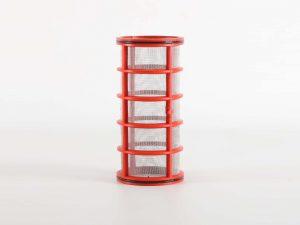 "Red 1.5"" Filter Element Short from Ridgeway Sprayers"