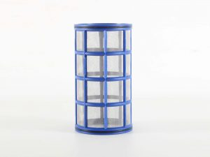 """Blue 2"""" Filter Element Short from Ridgeway Sprayers"""