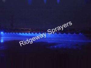 Ridgeway Sprayers | Blue LED Boom Light Kit