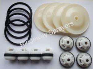 Altek P260 Pump Service Kit (DOUBLE LIPPED DIAPHRAGM - WHITE)