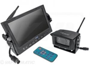 "CabCAM Digital Wireless Video System - 7"" Monitor & 120° Camera"
