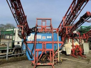 Ridgeway Sprayers | Used Gem Slimline 1200lt 20mt Sprayer